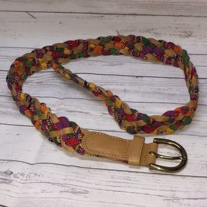 5/$20 Target Braided Multi Color Belt